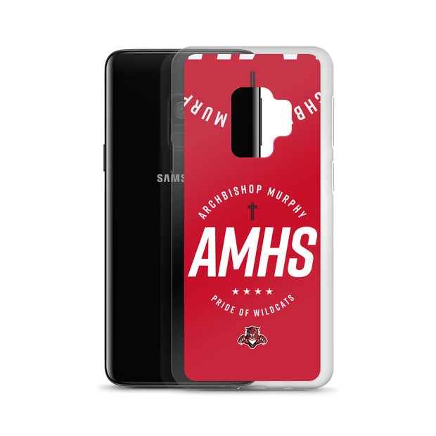 AMHS 'Excellence' red Samsung case
