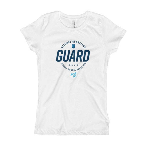 Gateway 'Excellence' girls slim fit tee