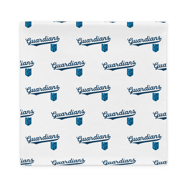 Gateway 'VNTG ATHL' white pillow case