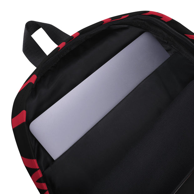 AMHS 'The Cross' medium-sized backpack (b/r/b)