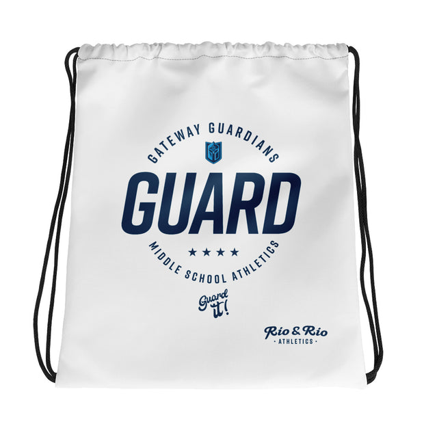 Gateway 'Excellence' white cinch bag