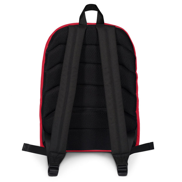 AMHS 'VNTG ATHL' customizable medium-sized backpack (r/b)