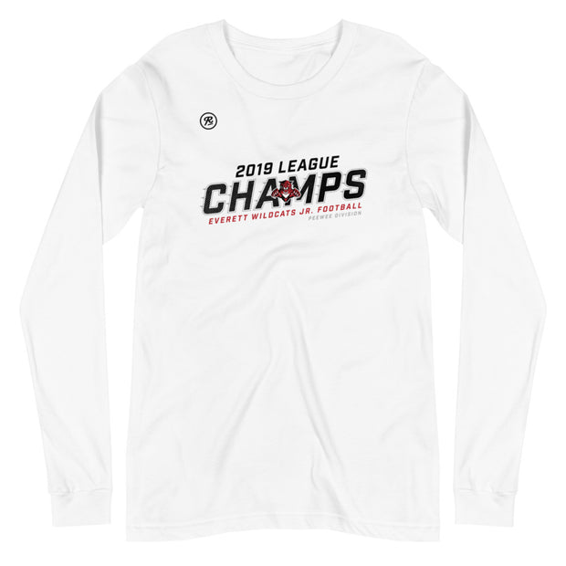 EWJF League Champs 2019 Peewee l/s t-shirt