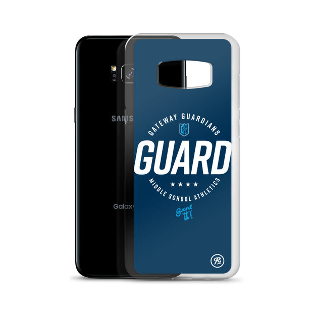 Gateway 'Excellence' blue Samsung case