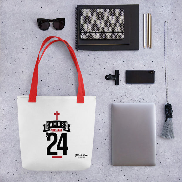 AMHS 'Class of '24' tote bag (w)