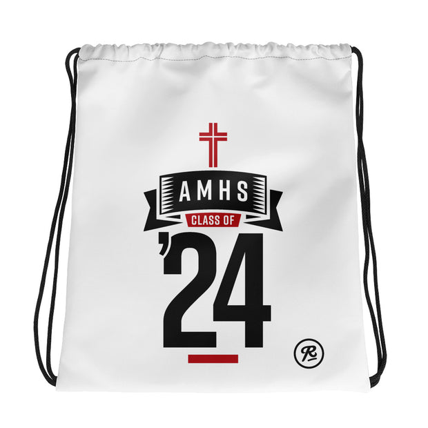 AMHS 'Class of '24' cinch bag (w)