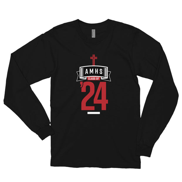 AMHS 'Class of '24' American Apparel l/s shirt