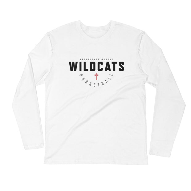 AMHS 'Hoops Classic' l/s fitted crew