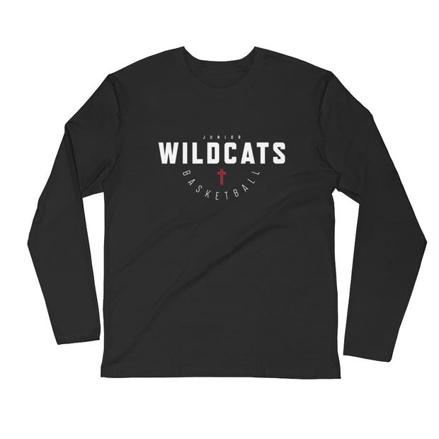 JWB 'Hoops Classic' l/s fitted crew