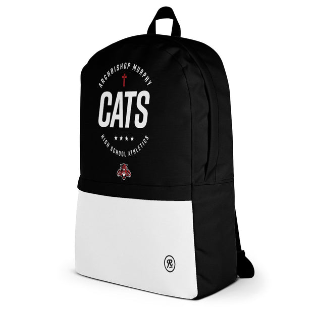 AMHS 'Excellence' medium-sized backpack (b/w)