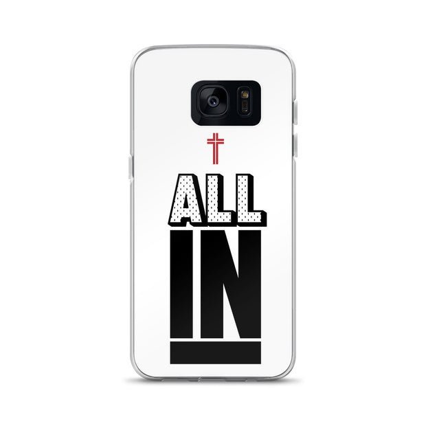 AMHS 'All In' white Samsung case