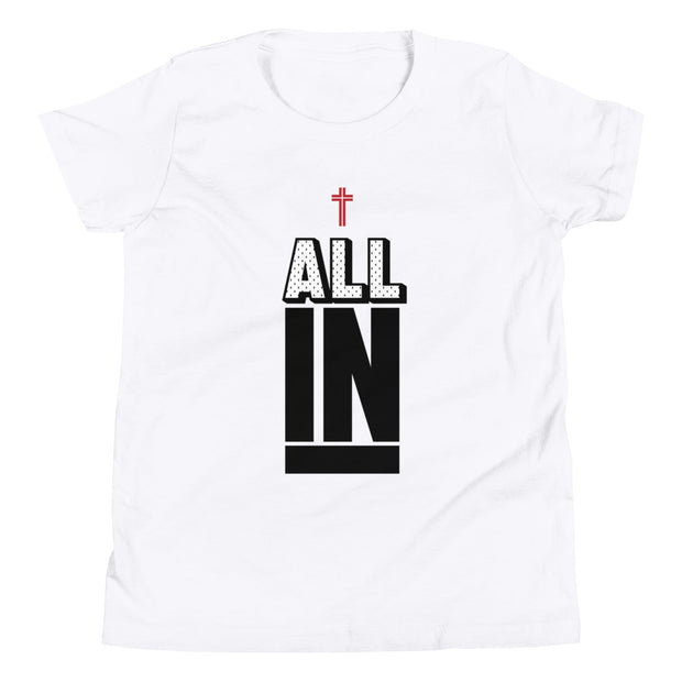AMHS 'All In' youth t-shirt