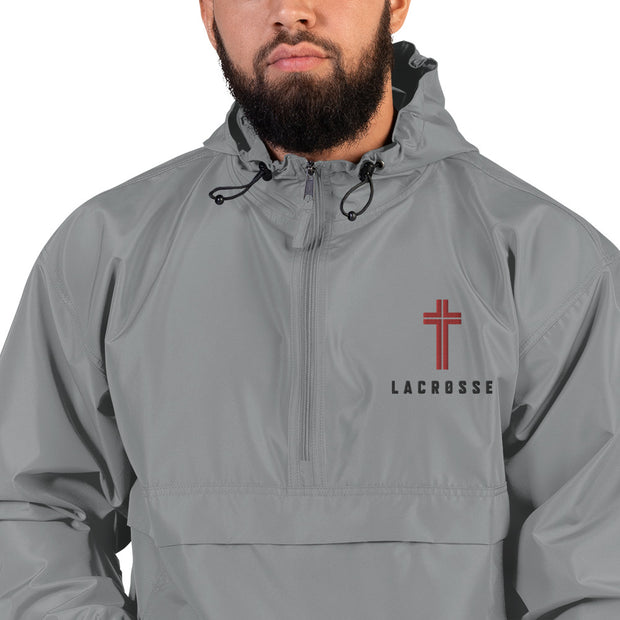 AMHS 'Icon' LAX Champion® embroidered packable jacket (g)