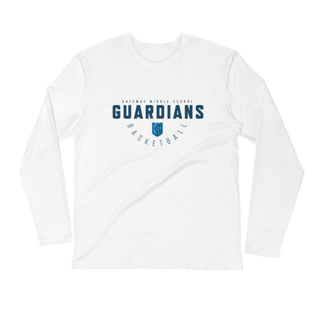 Gateway 'Hoops Classic' l/s fitted crew