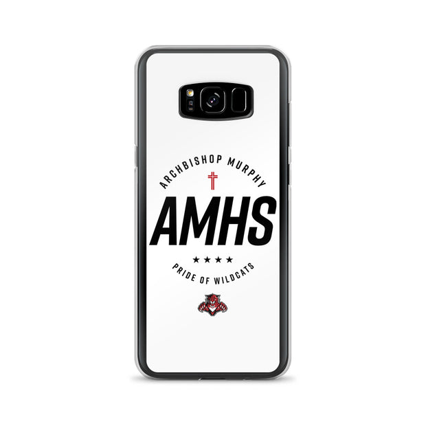 AMHS 'Excellence' white Samsung case