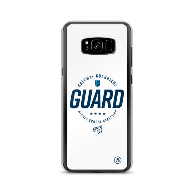 Gateway 'Excellence' white Samsung case