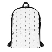 AMHS 'The Cross' medium-sized backpack (b/w)