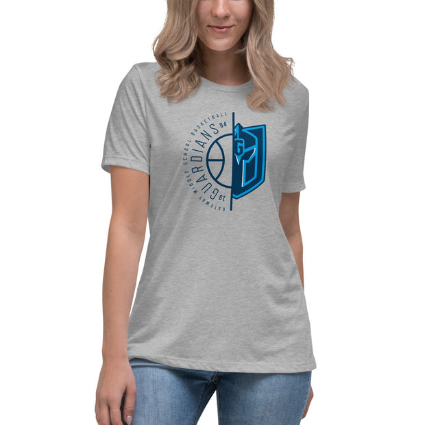 Gateway 'Hoops 180' women's relaxed t-shirt