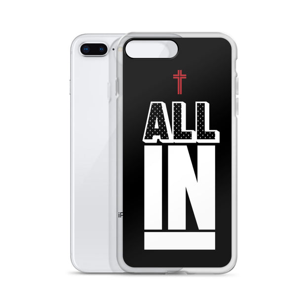 AMHS 'All In' black iPhone case