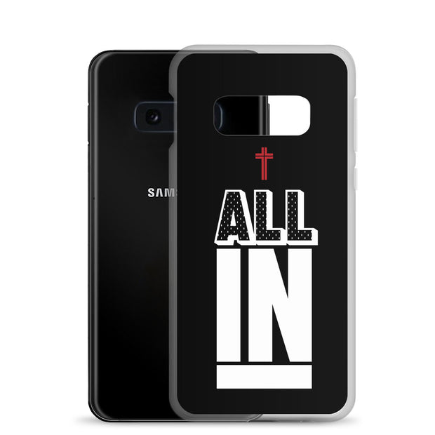 AMHS 'All In' black Samsung case