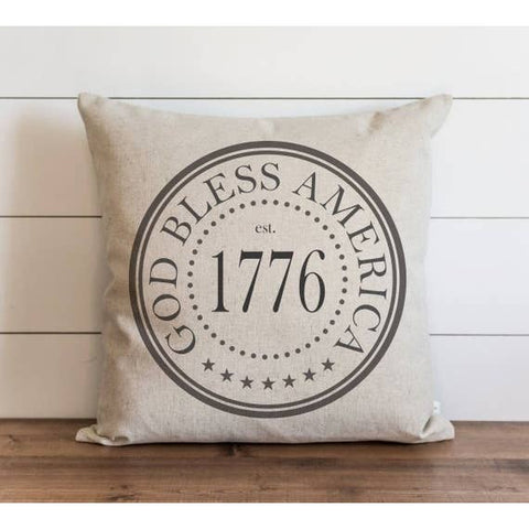 God Bless America 1776 Pillow Cover - Cori's Vintage Corner