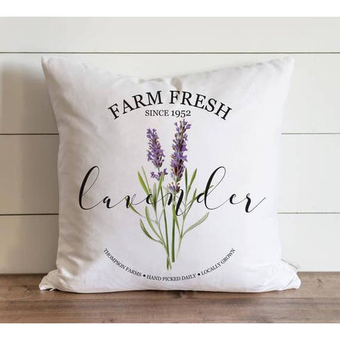 Fresh Lavender Pillow Cover - Cori's Vintage Corner