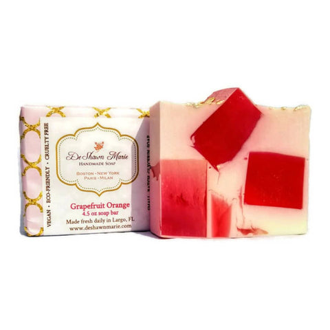 Grapefruit Orange Bar Soap - Cori's Vintage Corner