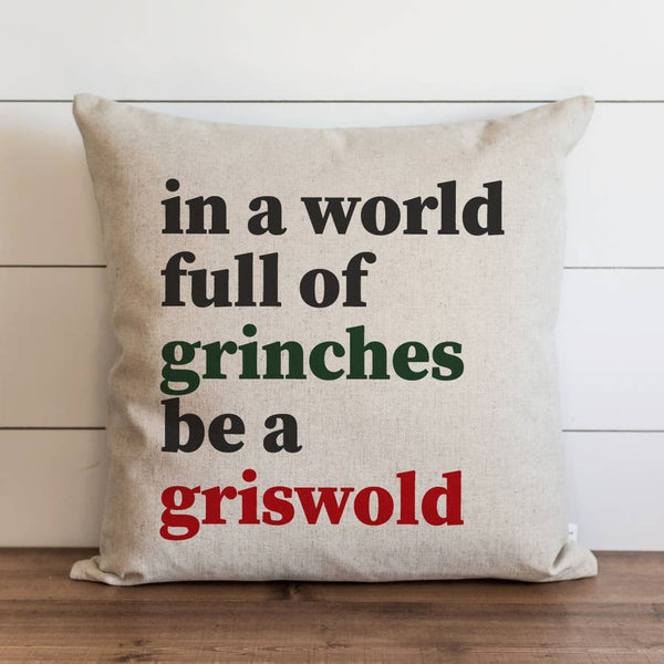 Grinches Griswold Pillow Cover - Cori's Vintage Corner