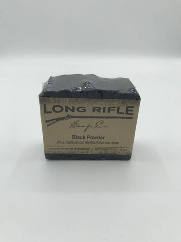 Men's Bar Soap - Black Powder