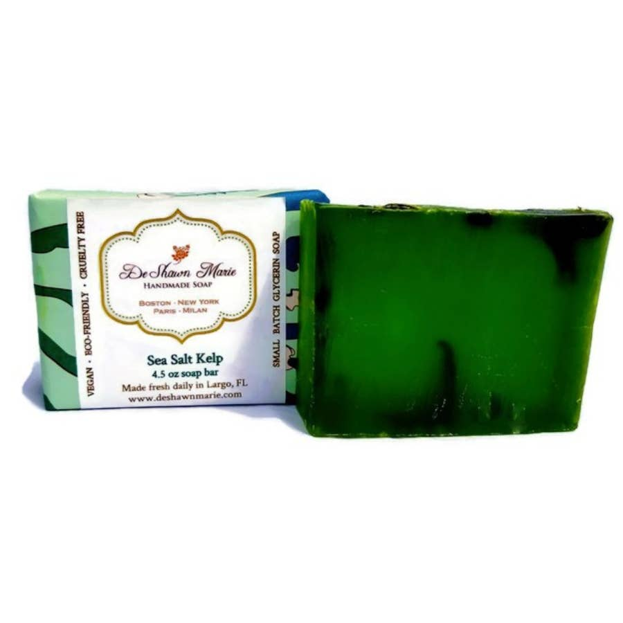 Sea Salt Kelp Bar Soap - Cori's Vintage Corner