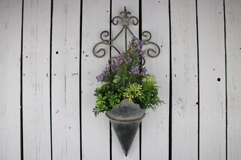Wall Plant Holders (Pair)