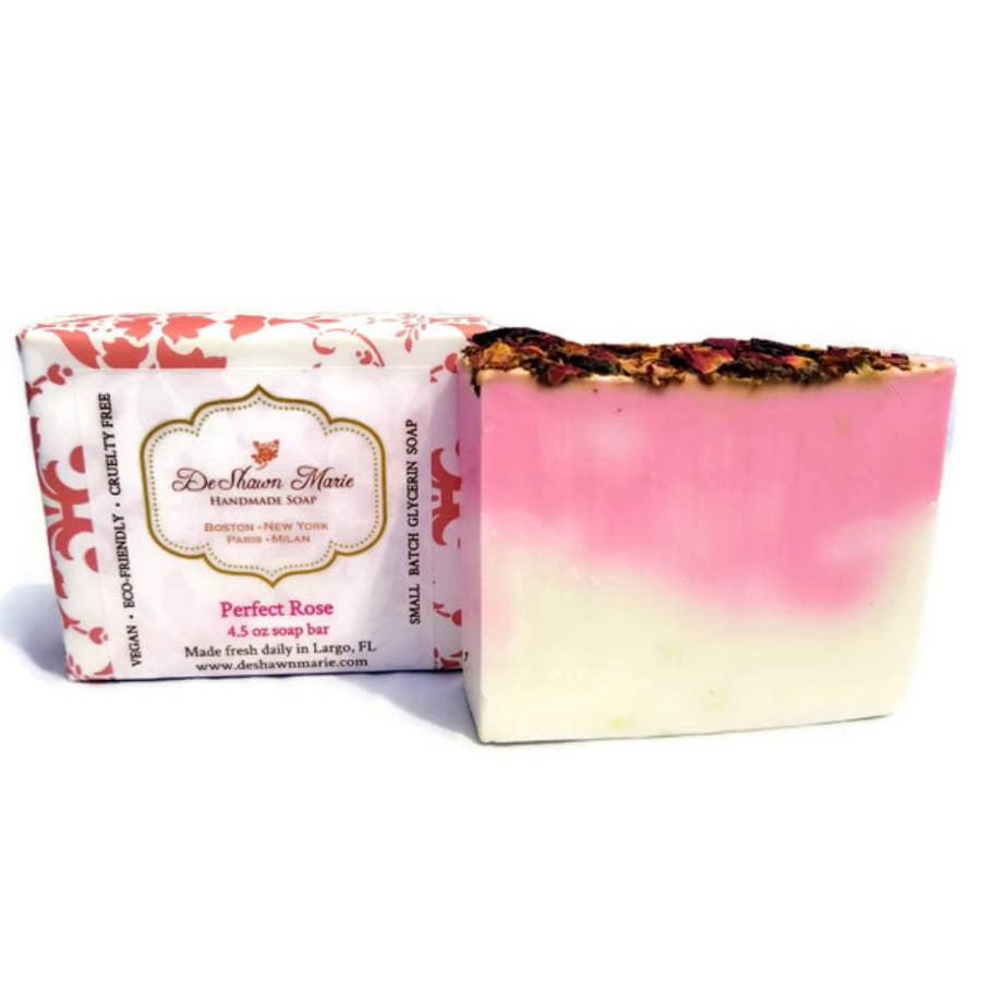 Perfect Rose Bar Soap - Cori's Vintage Corner
