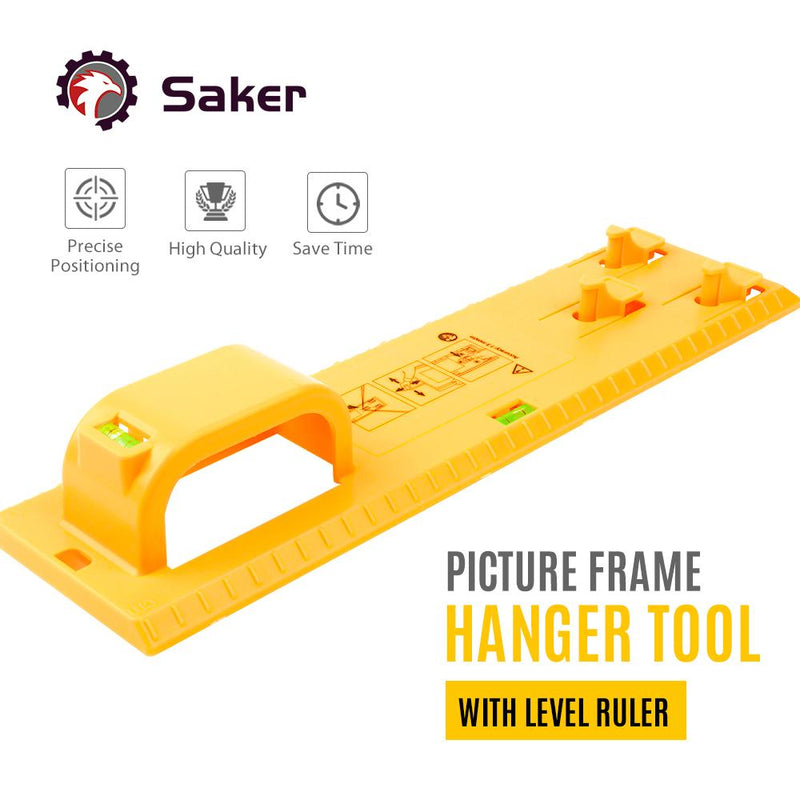 Saker Photo Frame Hanging Tool TEST & MEASURE smartsaker