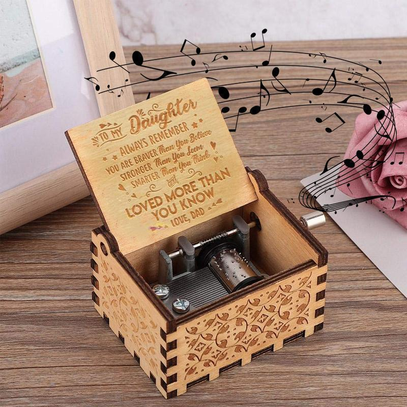 Engraved Music Box comfures