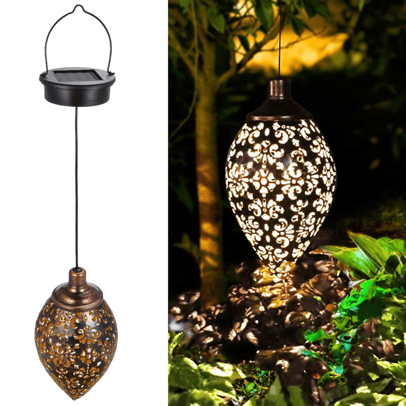 Outdoor Hanging Solar Lights OUTDOOR LIGHTS Smart saker Hanging