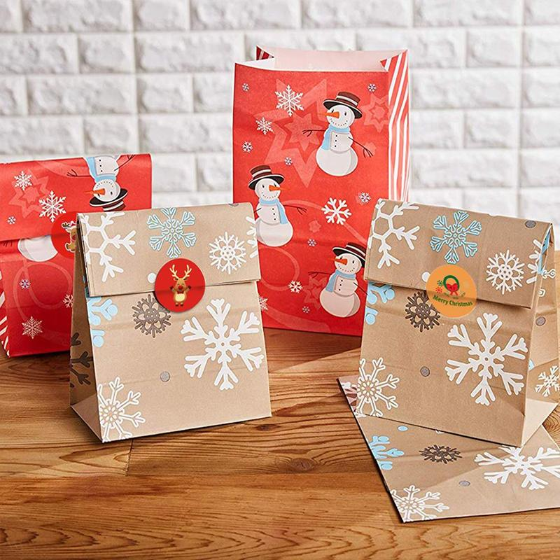Christmas Gift Wrapping & Decoration Stickers OTHER LIFE TOOLS Smart saker
