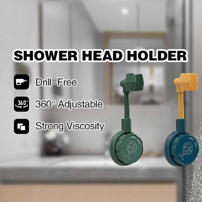 360° Flexible No-Punching Shower Head Bracket CLEANING TOOLS Smart saker