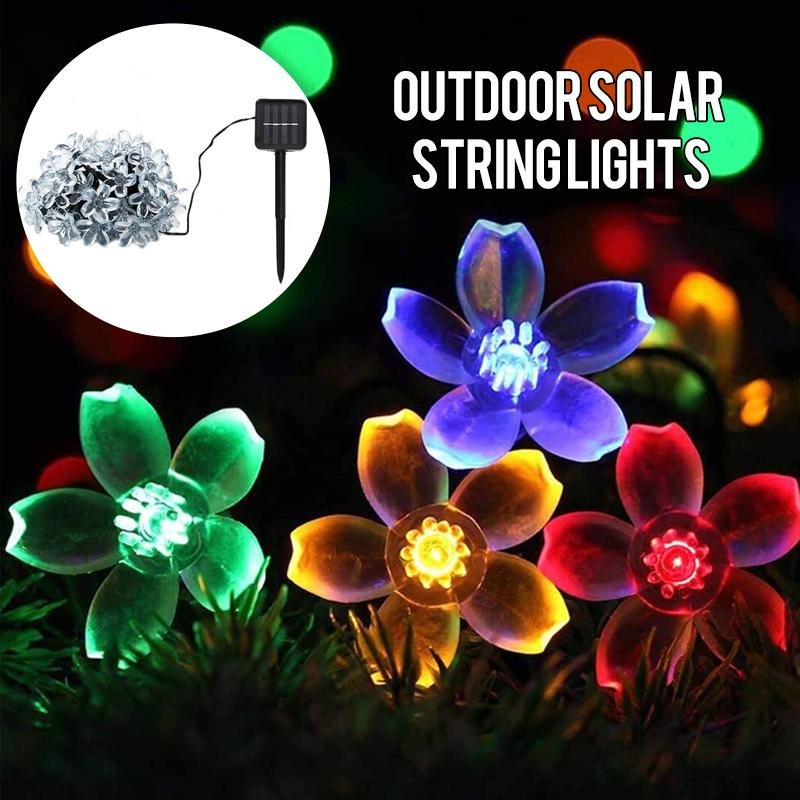 Solar-Powered String Lights (Blossom Flower) OUTDOOR LIGHTS Smart saker
