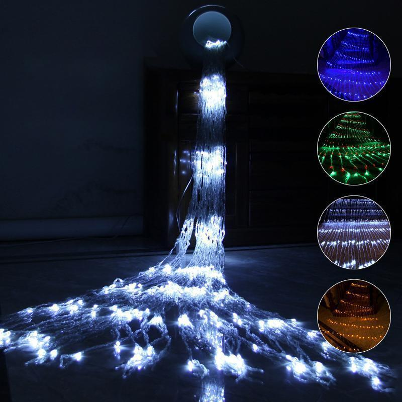 Waterfall Waterproof String Light Outdoor Lights smartsaker