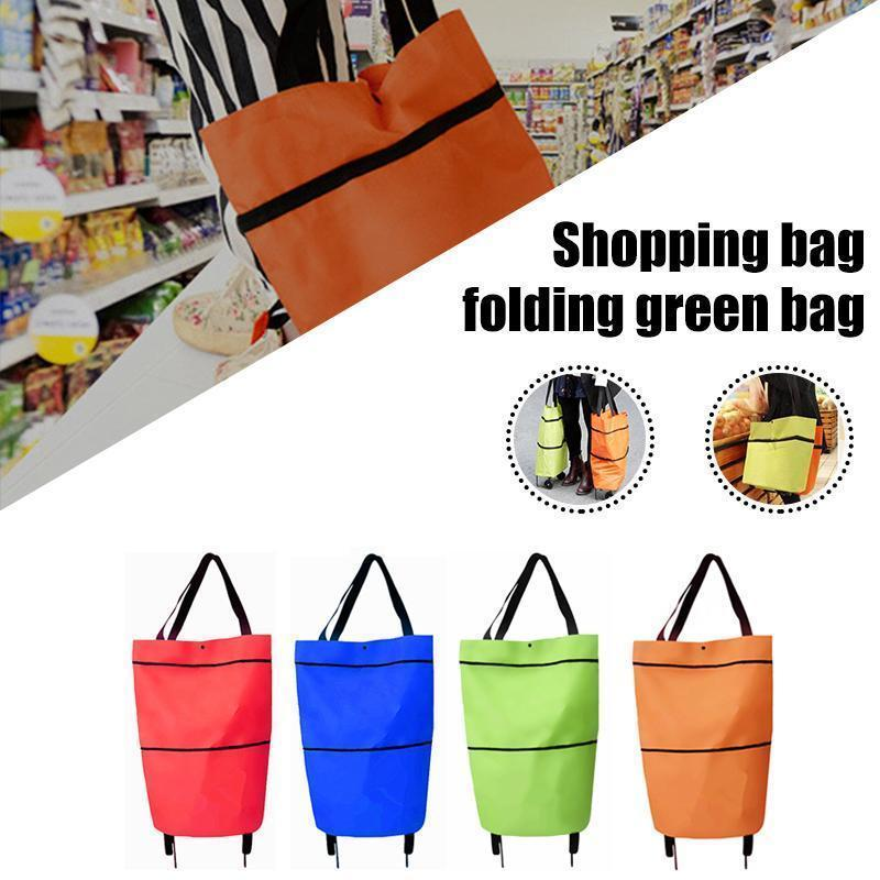 Foldable Eco-Friendly Shopping Trolley Tote Bag OTHER LIFE TOOLS Smart saker