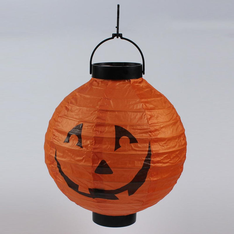 Halloween Hanging Paper Lanterns 6Pcs HOME DECORATIVE LAMPS Smart saker Pumpkin
