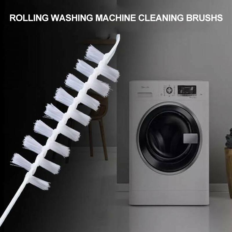 Rolling Washing Machine Cleaning Brushs TEST & MEASURE smartsaker