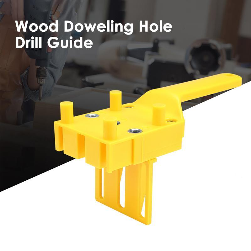 Wood Doweling Hole Drill Guide OTHER HAND TOOLS Smart saker