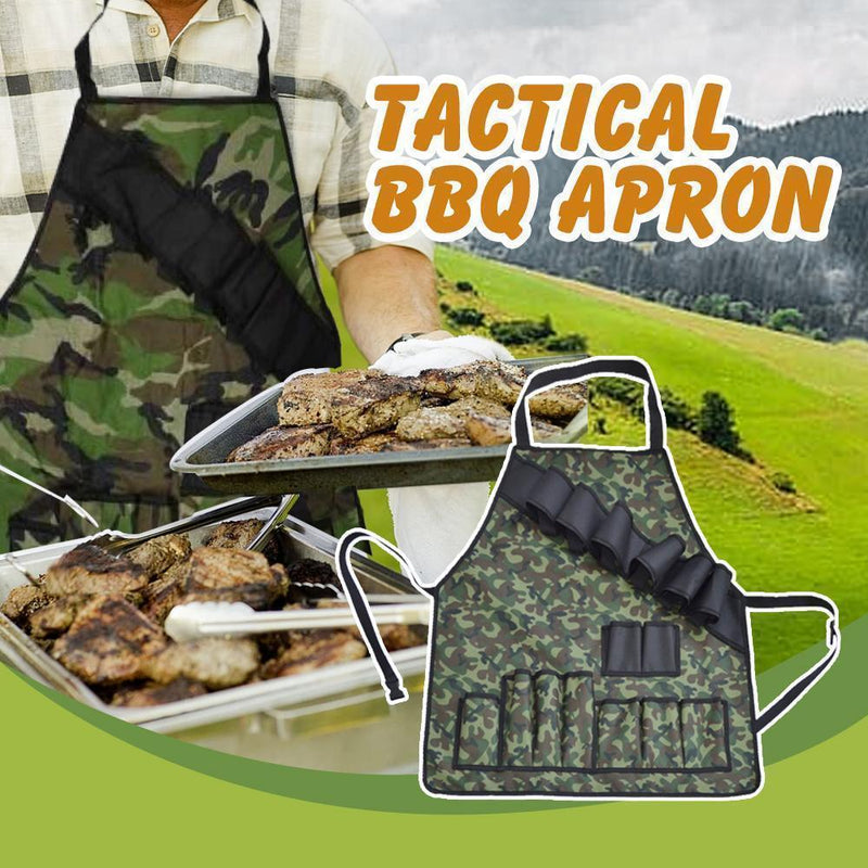 Tactical BBQ Apron OUTDOOR BARBECUE smartsaker