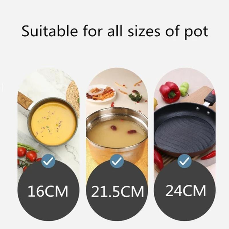 Silicone Anti-overflow Pot KITCHEN TOOLS Smart saker