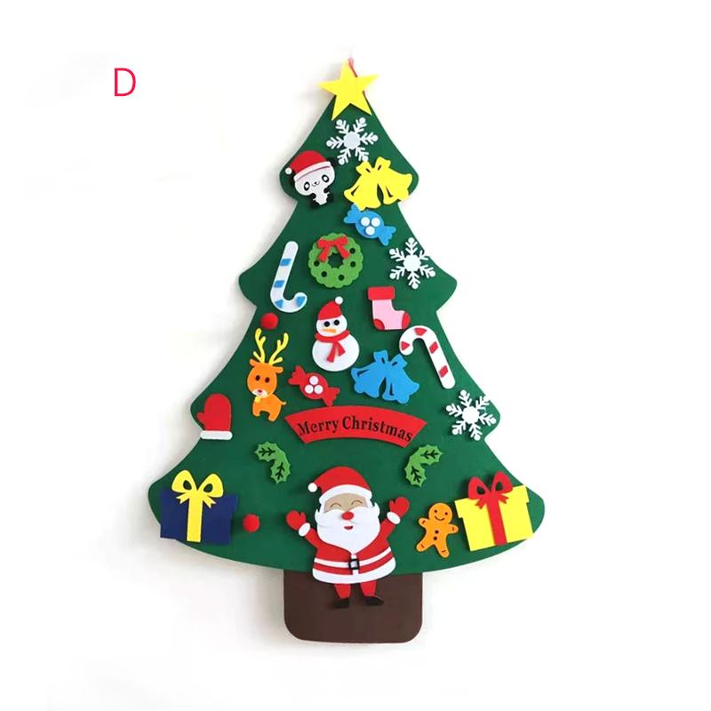 DIY Felt Christmas Tree(Best Gift For Children.) sunsetime D