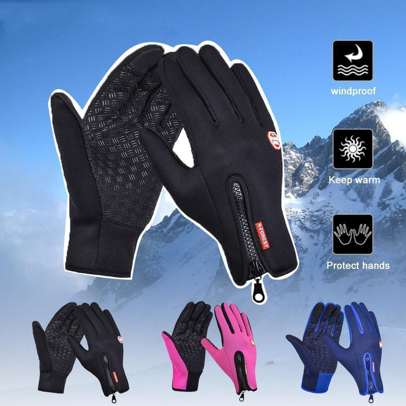 Warm Thermal Gloves Cycling Running Driving Gloves gogomore