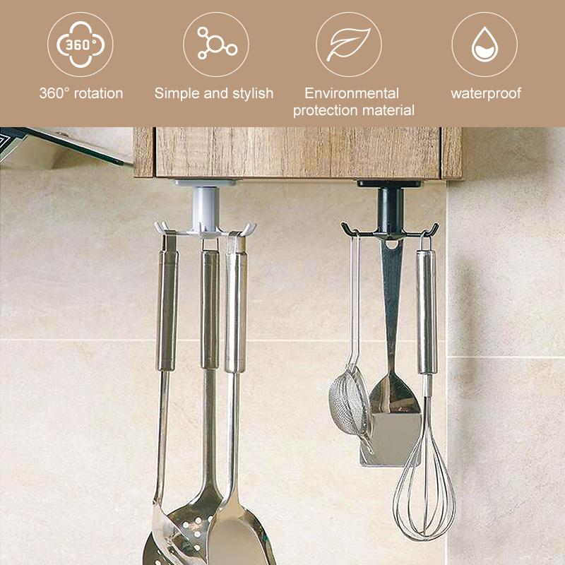Kitchen Rotating Storage Hook KITCHEN TOOLS Smart saker