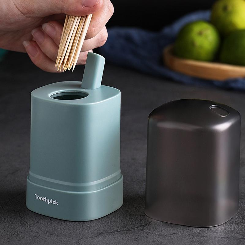 Automatic Pop-up Toothpick Box KITCHEN TOOLS Smart saker