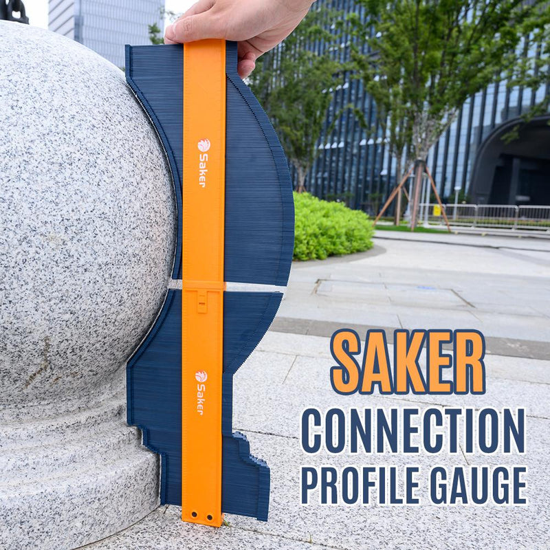 Saker® Connection Profile Gauge TEST & MEASURE smartsaker